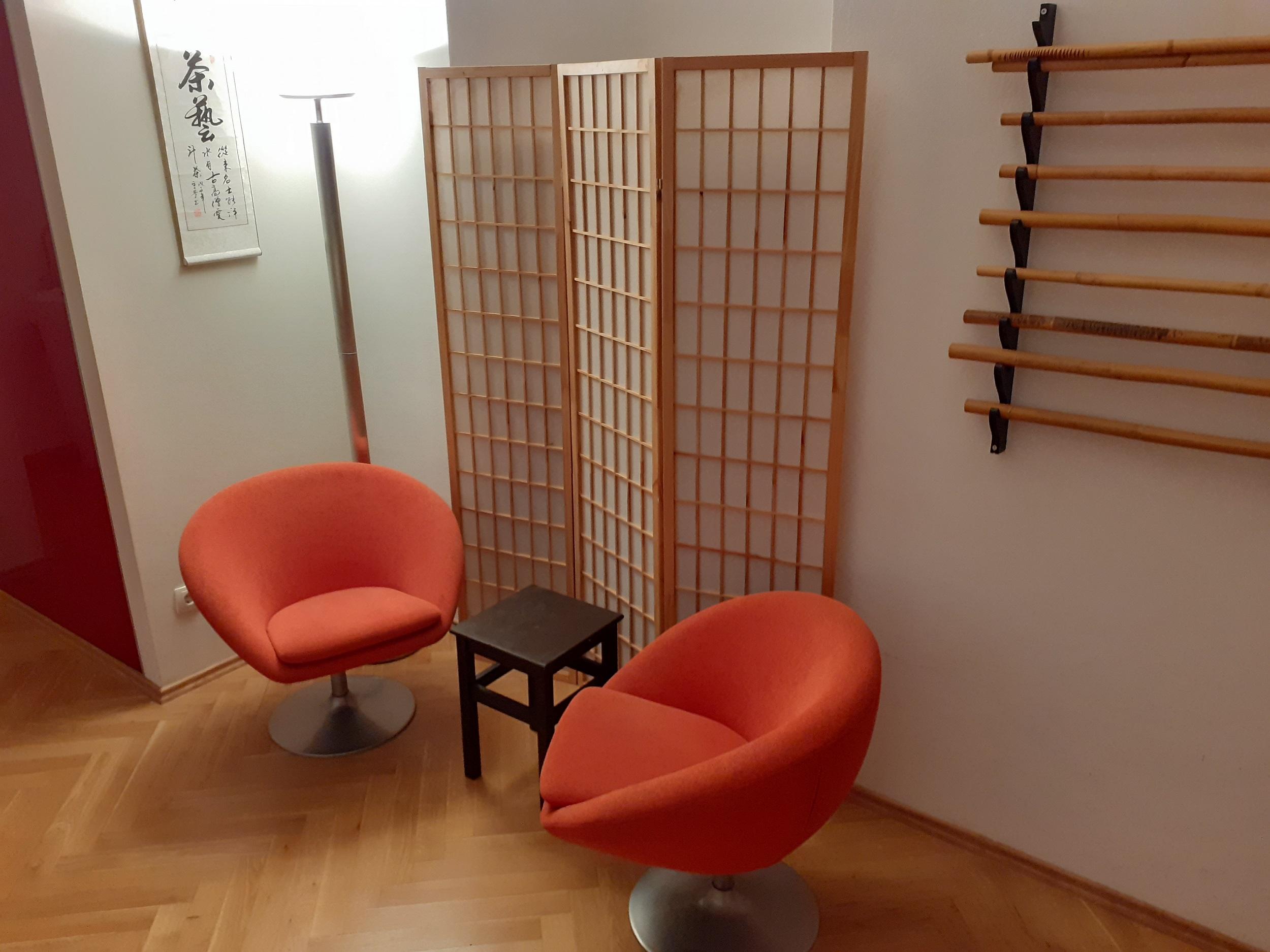 Seminarraum Miete, Studio Miete, Behandlungsraum, Wien, Yoga, Gymnastik, Tanz